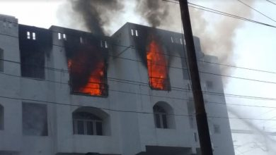 Fire Break Out in Prime Palace Apartment Indira Nagar Lucknow